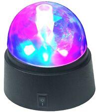 LED Disco Licht Prismen, Disko Lichter, Tischkugel, Diskokugel, Partylicht,