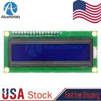 IIC/I2C/TWI/SPI Serial Interface 16*2 Character Blue 1602 LCD Display Module