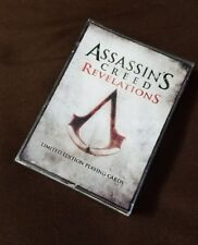 Assassins Creed Revelations - Limited Edition Playing Cards *New
