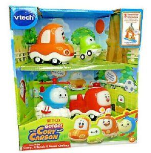 VTech Go! Go! Cory Carson SmartPoint Vehicles Play Set **NEW**
