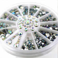White Nail Art Rhinestone Decoration Makeup DIY Tools For Mobile Bags Mirrors
