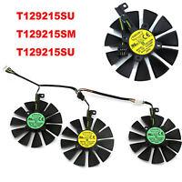 DC12V T129215SU/SM Graphics Card Cooling Fans for ASUS Strix GTX 1060 1070 1080