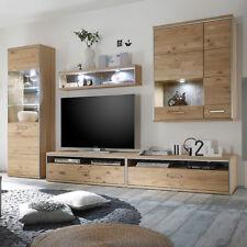 Wohnzimmereinrichtung Eiche ESPERO Holz Massiv Asteiche Bianco 9180