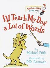 I'll Teach My Dog 100 Words, Dr Seuss Beg Bk Ser, Hardcover Very Good by M Frith