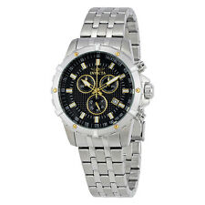 Invicta Specialty Chronograph Black Dial Mens Watch 17502