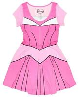 Disney Juniors I Am Aurora Sleeping Beauty Costume Skater Dress New XS/S