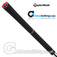 TaylorMade Dual Feel Universal Replacement Grips By Lamkin - Black / Red x 3