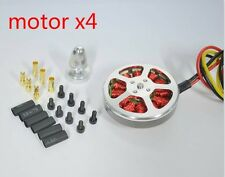4 pcs 5010 350KV Quadcopter Brushless Motor for RC Multi-axis Aircraft