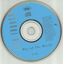 TINA TURNER Way of the World 1991 USA PROMO radio DJ CD single MINT DPRO7911