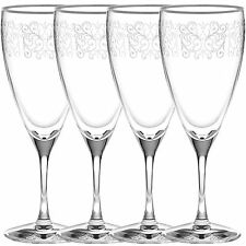 Noritake Odessa Platinum Iced Beverage Glasses, Set of 4
