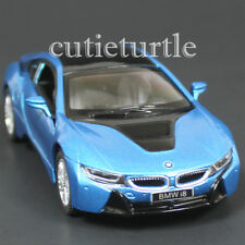 Kinsmart Bmw i8 2 Doors Coupe 1:36 Diecast Toy Car Blue
