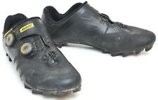 Mavic Crossmax PRO Carbon Mountain Bike Shoes EU 44 US Men 10 Black BOA Gravel