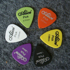 New 100pcs Acoustic Electric Guitar Picks Plectrums(Assorted thickness&colors)