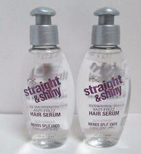 2 X FX Straight and Shiny Extra Strength Anti-Frizz Hair Serum Split End 4 oz