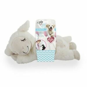 All For Paws Little Buddy Heart Beat Plush Sheep - Battery Required - AAA