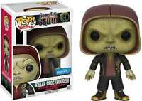 Funko POP! MOVIES: SUICIDE SQUAD ~ KILLER CROC (Hooded) #150 Wal-Mart Exclusive