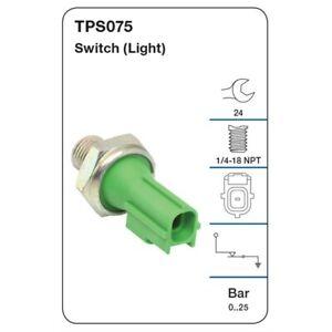 Tridon Oil Pressure Switch TPS075 fits Volvo V60 1.6 T4, 2.0 T5