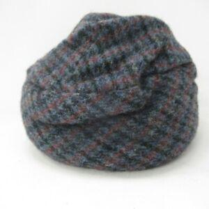 Harris Tweed Ladies Hat - Anna Macneil Isle of Lewis Scotland 56cm Circumference