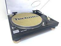 TECHNICS SL 1200 MK6 Rare Japanese Gold Version Turntable 220 Volts BLUE LED