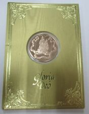 1982 Franklin Mint Christmas Card and Medal