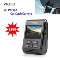 VIOFO A119 PRO Dash Camera W/ 32GB Card 1440P 30fps Video Recorder Parking Mode