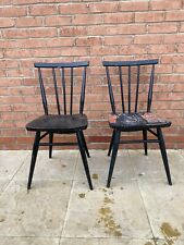 Pair of Ercol 391 All Purpose Kitchen Dining Chairs - Restoration Project