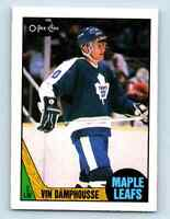 1987-88 O-Pee-Chee Vin Damphousse Rookie ! #243