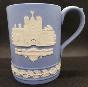 Wedgwood Blue Jasperware St James Palace Christmas 1980 Mug/Tankard