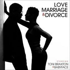 TONI BRAXTON AND BABYFACE LOVE MARRIAGE & DIVORCE CD R&B 2014 NEW