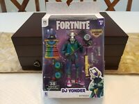 "🧨Fortnite Legendary🍔Series 6"" DJ Yonder Action Figure Pack Toy Jazwares...!!!"