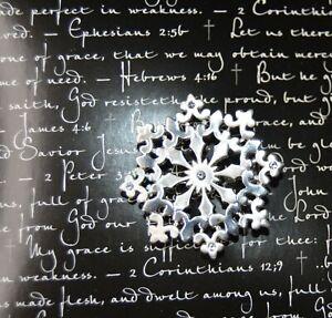 Pure Grace Snowflake pin