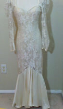 80s Vintage Wedding Dress by bb Collections