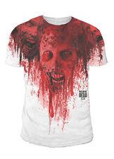 The Walking Dead - Zombie Walker Sublimation Herren T-Shirt Weiss (Gr.S-XL)