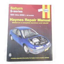 Haynes Repair Manual Saturn S-Series 1991-2002 Complete Tear Down & Rebuild