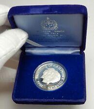 1981 SAMOA UK British Prince Charles Princess Diana ROYAL WEDDING Coin i76373