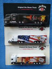 Jim Beam Truck Kentucky Whiskey Werbetruck LKW Limited Edition 5 Stück