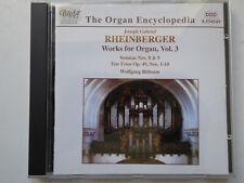 WOLFGANG RÜBSAM <>  Rheinberger - Organ Works Vol. 3  <> NM (CD)