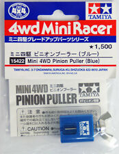 Tamiya 15422 Mini 4WD Pro Motor Brass Pinion Aluminum Puller (Blue) Remover NIP