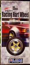 Felgen Racing Hart 15 Zoll inkl. Reifen , 1:24, Fujimi 192710