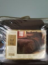 Manor Collection The Complete Luxury Faux Fur Bed in a Bag Full size