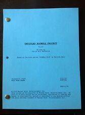 ROSWELL, NEW MEXICO TV Script Studio Production Draft 2/27/18 Pilot Episode