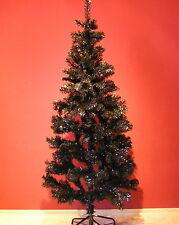 Weihnachtsbaum künstlich schwarz  künstlicher Tannenbaum Christbaum 167 cm black
