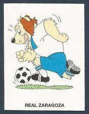 PANINI FUTBOL 93-94 SPANISH -#354-REAL ZARAGOZA-CARTOON DOG