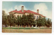 Missoula Montana High School Old Unused Postcard Pc2124