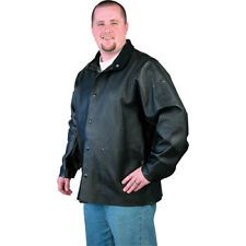 NEW Black Stallion DuraLite Leather Welding Jacket XL