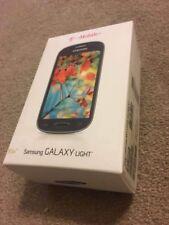 Samsung Galaxy Light Parts: Screen, Case, Battery, Box, 2 screen protectors, Sim