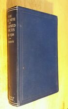 1923 Vintage The Triumph of Unarmed Forces by RADM Consett WW1 First Ed. Orignal