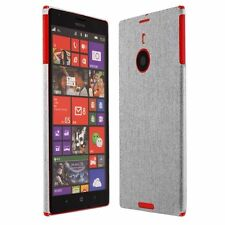 Skinomi Brushed Aluminum Skin+Clear Screen Protector for Nokia Lumia 1520
