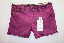 billabong Brand Women's Purple Dye Denim Shorts Size 7 BNWT #SQ65