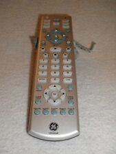 GE Universal Remote Control RC24918 RM24918 with Backlight Button Silver TESTED